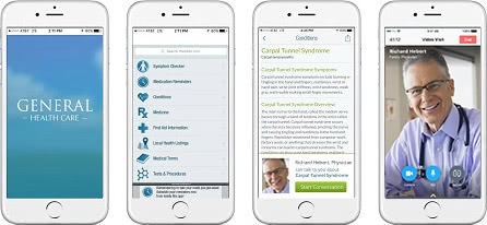 See a Doctor From a Healthcare App